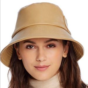 Lack of color bucket vegan hat